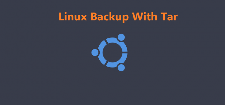 Linux Backup With Tar